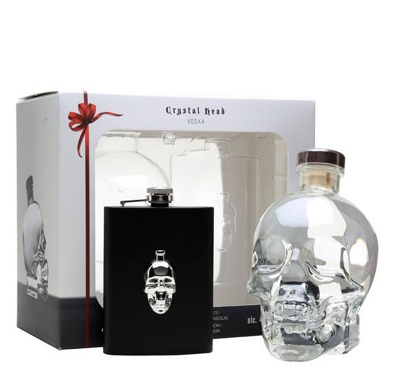 | Crystal Head Vodka Hipflask pack
