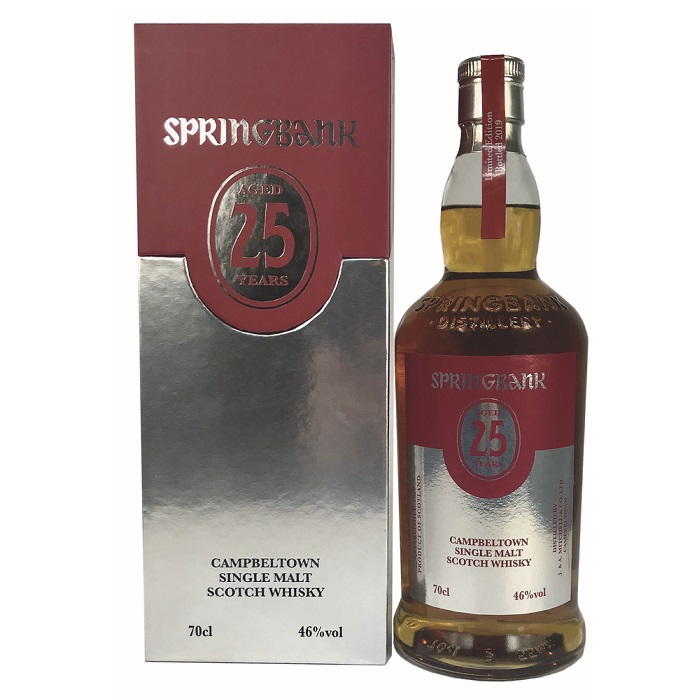 | Springbank 25 Years 2019 release