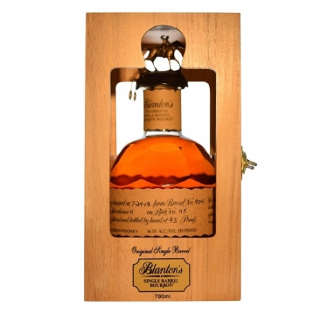 Blanton's The Original Single Barrel Bourbon Whiskey