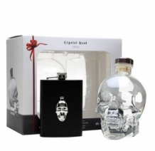 Crystal Head Vodka Hipflask pack