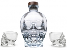 Crystal Head Vodka met Shotglazen