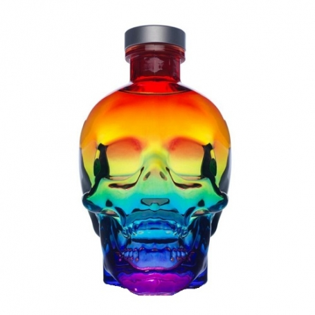 Crystal Head Vodka Limited Edition Rainbow Bottle