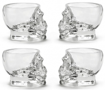 Crystal Head Shotglazen Set