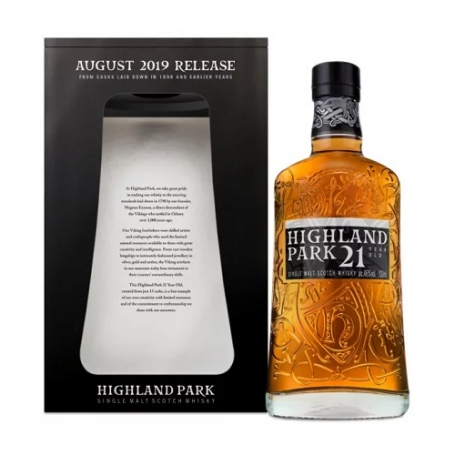 Highland Park 21 Year Old August 2019