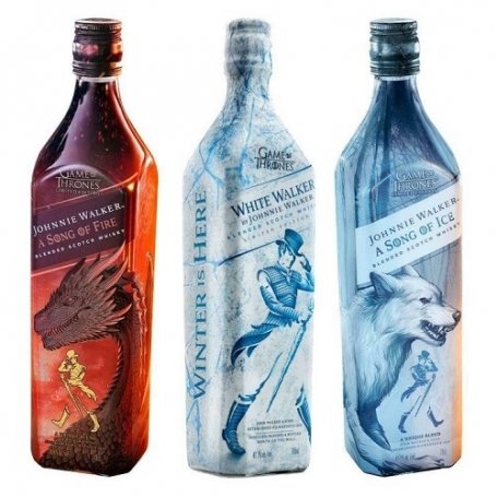 Johnnie Walker Game of Thrones Trilogy aanbieding