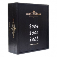 Moet & Chandon Grand Vintage Collection 2004-2006-2008
